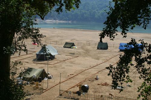 Tikapada tented camp