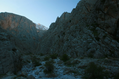 Demerkazik Gorge, Taurus Mountains, Turkey