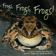 'Frogs, Frogs, Frogs!' album cover
